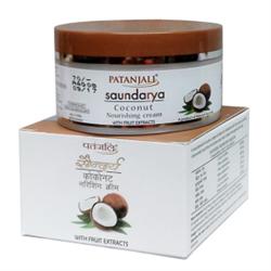 Питательный кокосовый крем для лица Saundarya (Саундарья) - природная красота вашей кожи - фото 10386