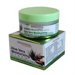 Крем для лица увлажняющий Aloe Vera (Алоэ Вера) - питает кожу лица, предотвращая возрастные изменения. - фото 10387