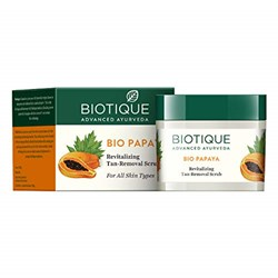 "Скраб для кожи лица и шеи с папаей ""Bio Papaya Revitalizing Tan Removal crub"" - фото 10401"