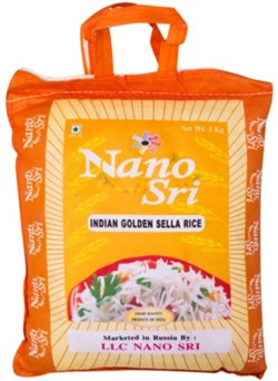 Рис Басмати Golden Sella (Голден Селла), 5 кг. - фото 10407