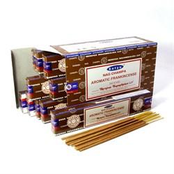 Благовония Aromatic Frankincense (Ароматный Ладан) - древний оберегающий аромат, 12г. - фото 10430
