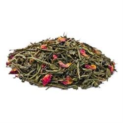Rose Green Tea (Чай зелёный с лепестками розы), 100 г. - фото 10453