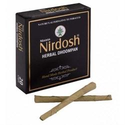 Аюрведический ингалятор без табака и без фильтра Nirdosh (Нирдош) 20 шт - фото 10466
