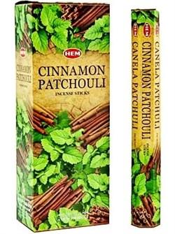 Благовония Cinnamon Patchouli (Корица Пачули Хем), 20 шт - фото 10622