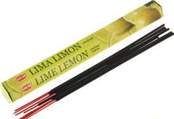 Благовония Lime Lemon (Лайм Лимон), 20 шт - фото 10633