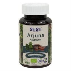 Arjuna (Арджуна)-выводит холестерин из организма, 60 вегетарианских капсул по 500 мг. - фото 10672