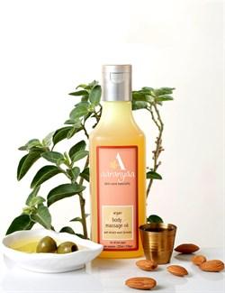 Argan body massage oil anti stretch mark formula (Масло аргановое для массажа, Формула против растяжек). - фото 10700