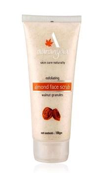 Exfoliating Almond Face Scrub (Скраб миндальный) - для кожи лица с гранулами грецкого ореха - фото 10705