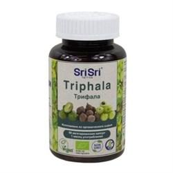 Triphala Capsules (Трифала) - устраняет токсины, 60 вегетарианских капсул по 500 мг. - фото 10727