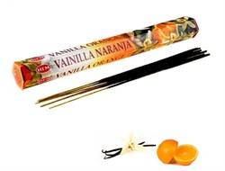 Благовония Vanilla Orange (Ваниль Апельсин), 20 шт. - фото 10745