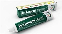 Травяная зубная паста Herbodent Premium Dr. Jaikaran's (Хербодент Премиум) - фото 10831