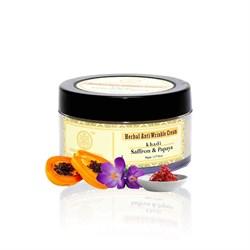 Herbal Anti Wrinkle Cream (Травяной крем для лица против морщин «Шафран и Папайя») - фото 10842
