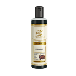 Hair Oil Shikakai (Масло для волос Шикакай) - способствует росту волос и предотвращает появление перхоти - фото 10887