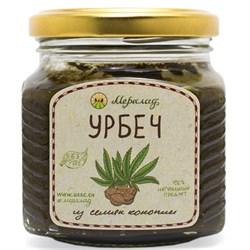 Урбеч из семян конопли, 230 г. - фото 10988