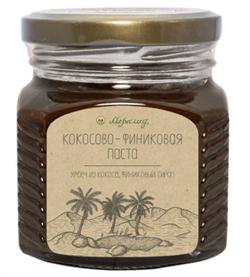 Кокосово-финиковая паста, 230 г. - фото 10999