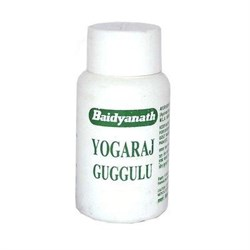 Yogaraj Guggulu (Йогарадж Гуггулу) - для опорно-двигательного аппарата и почек, 60 таб. - фото 11066