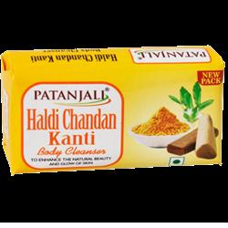 Мыло Haldi Chandan Kanti (Куркума и Сандал), 75 г. - фото 11095