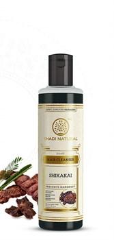 Шампунь Khadi Shikakai - для волос темных оттенков - фото 11114