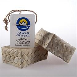 Кристалл свежести с глицерином  в футляре из пальмы Абака - фото 4018