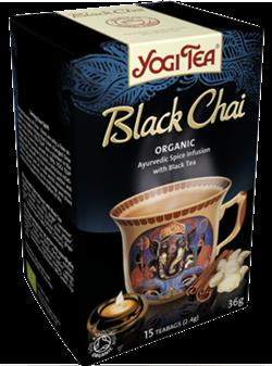 Yogi Tea «Black Chai» со смесью восточных пряностей - фото 4289