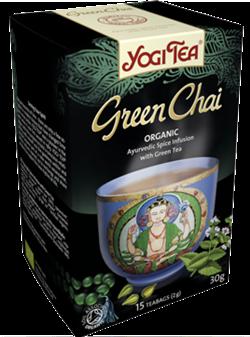 Yogi Tea «Green Chai» со смесью восточных пряностей - фото 4291