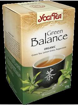 Yogi Tea «Green Balance» (Зеленый чай с чайным грибом) - фото 4321