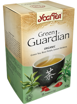 Yogi Tea «Green Guardian» (Зеленый чай с бузиной и чайным грибом) - фото 4323