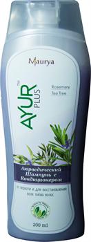 Растительный шампунь на основе масел чайного дерева и розмарина - фото 5824