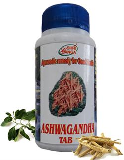 Ashwagandha Tab (Ашвагандха таблетки), 120 таб. - фото 5859