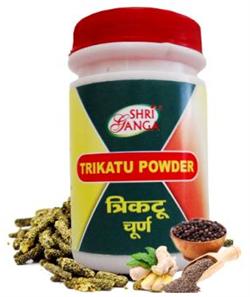 Trikatu churna (Трикату чурна) - стимулирует работу системы пищеварения, согревает тело - фото 6206