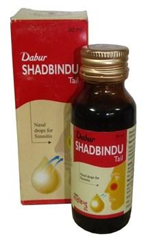 Shadbindu Tail 50ml (масло Шадбинду) - знаменитое аюрведическое масло от насморка и гайморита - фото 6319