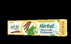Аюрведическая зубная паста с мисваком и мятой - фото 6379