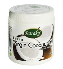 Кокосовое масло Барака Вирджин. Нерафинированное, Органик Био 250мл - фото 6470