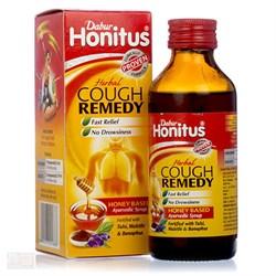 Аюрведический сироп от кашля на основе мёда Dabur Honitus - фото 6644