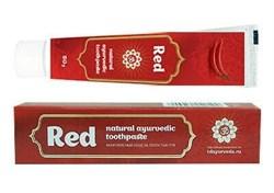 Красная аюрведическая зубная паста - фото 6780