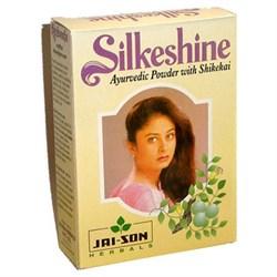 Сухой аюрведический шампунь Silkeshine Ayurvedic - фото 6916