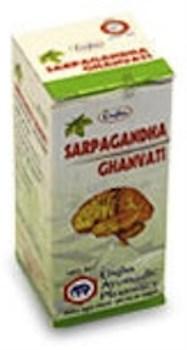 Sarpagandha ghanvati (Сарпагандха гханвати) - успокаивает Вата дошу, снижает кровяное давление - фото 7088