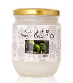 Органическое кокосовое масло, 200мл - фото 7132