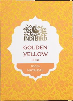 Хна натуральная золотисто-жёлтая - фото 7175