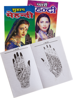 Книга с образцами рисунков для мехенди - фото 7260