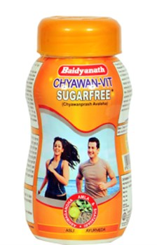 CHYAWAN-VIT 1KG - диабетический чаванпраш без сахара - фото 7273