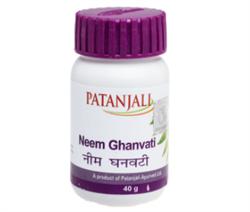 Neem Ghanvati (Ним Гханвати) Patanjali 40 гр - фото 7514