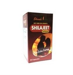 Шиладжит - индийское очищенное мумиё в капсулах - фото 7539