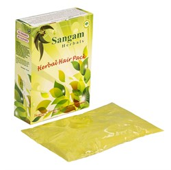 Травяная маска для волос Сангам, 100 гр - фото 7603
