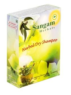 Сухой шампунь для волос на основе мыльного ореха Сангам, 100 гр - фото 7604