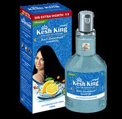 Кеш Кинг - шампунь против перхоти и выпадения волос с каранджей и лимоном, 120 мл - фото 7645