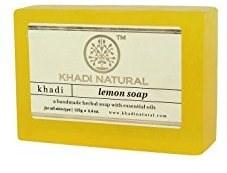 Глицериновое мыло ручной работы KHADI с лимоном - фото 7663