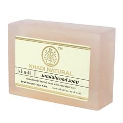 Глицериновое мыло ручной работы KHADI с сандалом - фото 7670