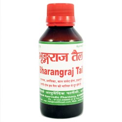 Bhringraj Tail (масло Брингарадж) - для густоты и пышности волос - фото 7814