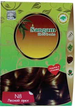 """Натуральная краска для волос """"Лесной орех"""" (золотисто-коричневый) - фото 7888"""